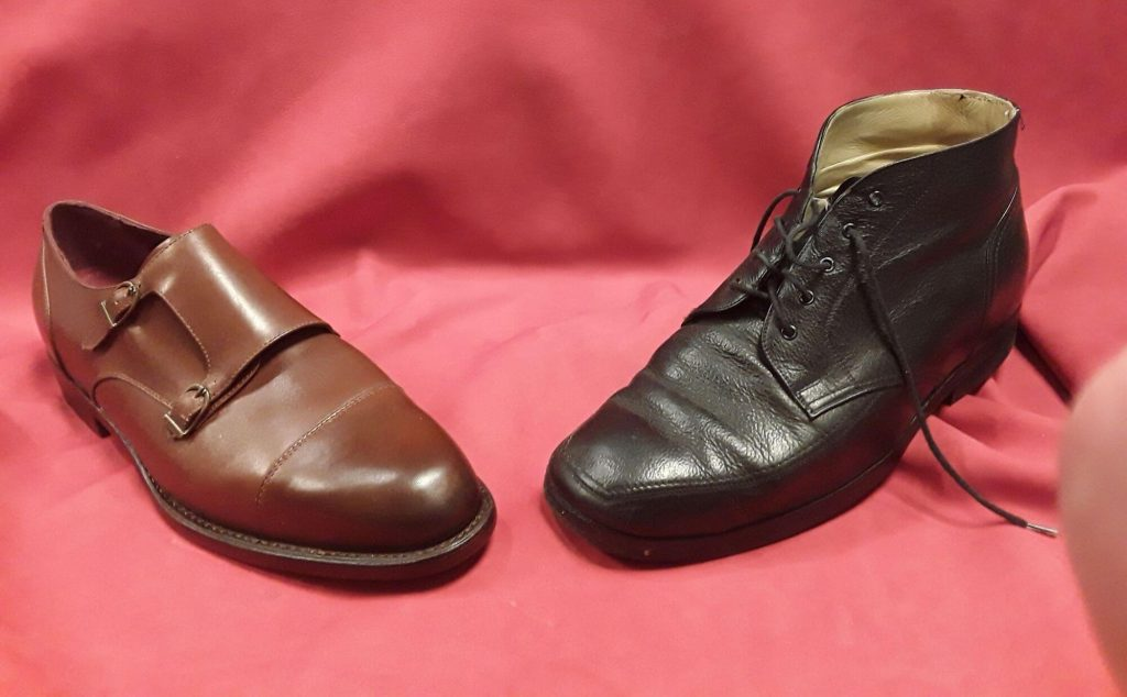 Double-Monk als orthopädischer Schuh